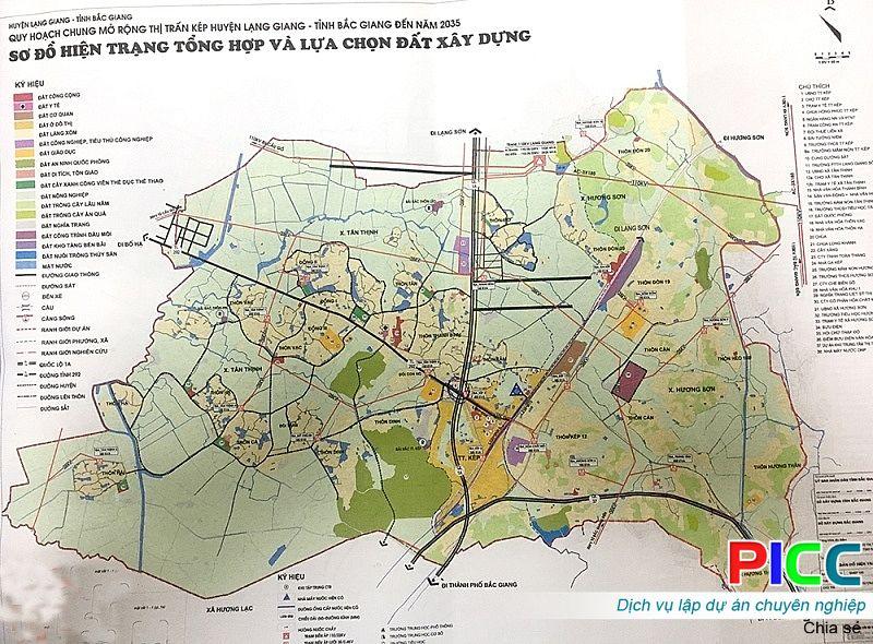Bắc Giang: Duyệt quy hoạch chung mở rộng thị trấn Kép và vùng phụ cận đến năm 2035, tỷ lệ 1/5.000