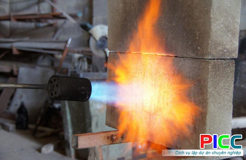 Các yếu tố cần quan tâm của bê tông chống cháy