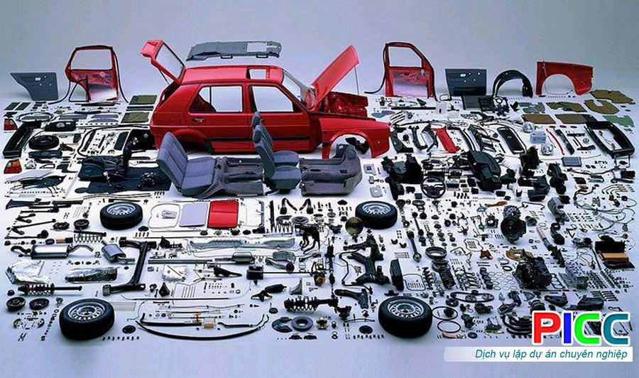 Cửa hàng kinh doanh thiết bị phụ tùng ô tô Tp.Móng Cái