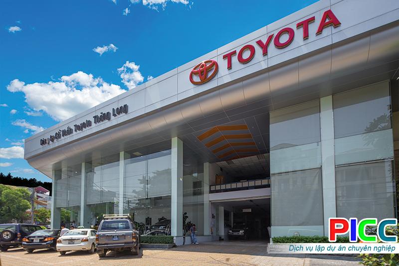 Đại lý ô tô Toyota tại Hà Nội