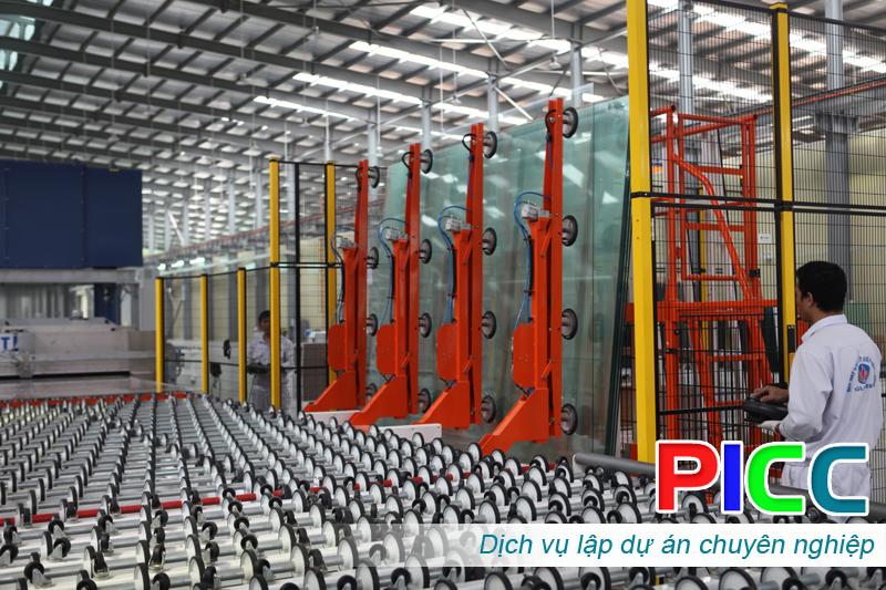 Đầu tư xây dựng nhà máy gia công kính tiết kiệm năng lượng tại KCN Yên Phong
