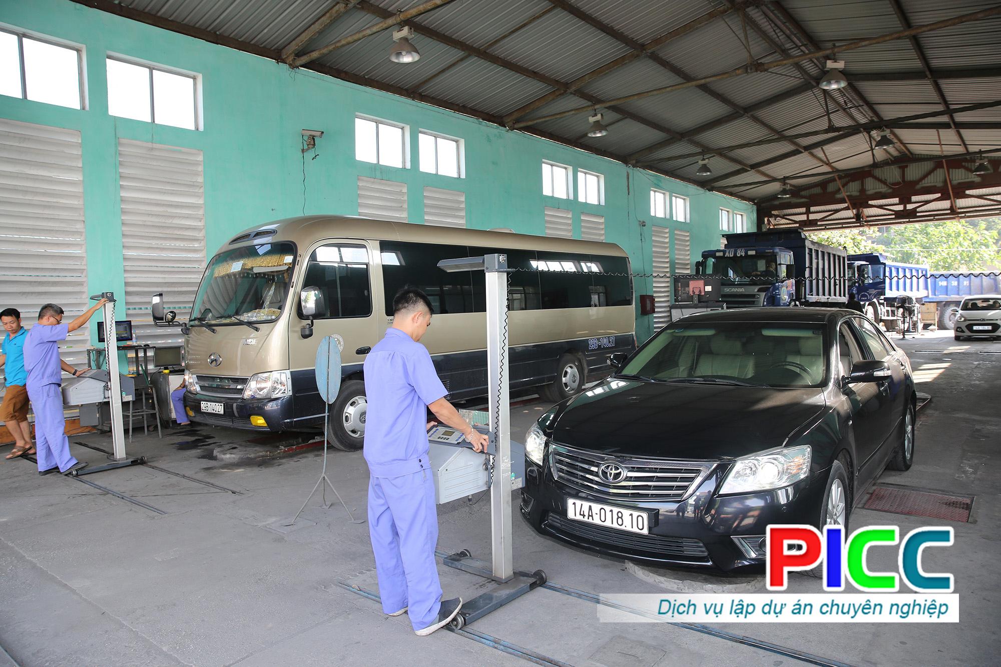 Dự án đầu tư dây chuyền kiểm định xe cơ giới Tân Sơn Nhất