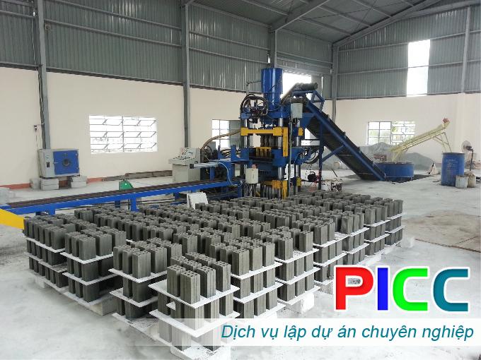 Dự án đầu tư Nhà máy sản xuất gạch cốt liệu Xi Măng tại Thanh Hóa