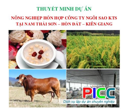 Dự án Đầu tư Nông Nghiệp hỗn hợp tại Nam Thái Sơn-Hòn Đất-Kiên Giang