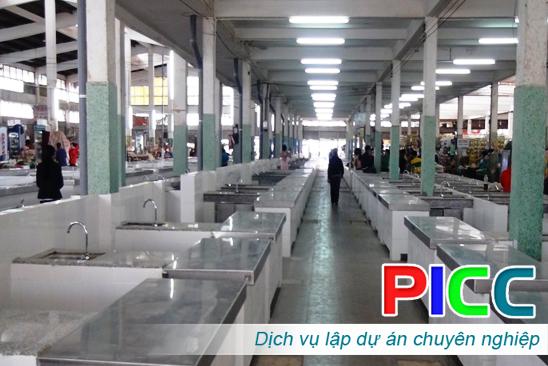 Dự án đầu tư xây dựng chợ vùng cao huyện Ea Kar