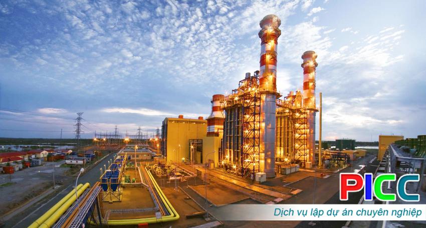 Dự án đầu tư xây dựng nhà máy điện khí (turbin khí)
