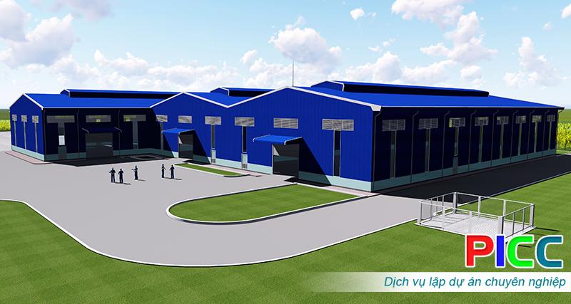 Dự án đầu tư xây dựng nhà máy phân hữu cơ vi sinh