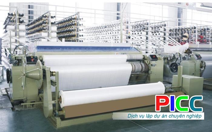Dự án đầu tư xây dựng nhà máy sản xuất bạt tarpaulin