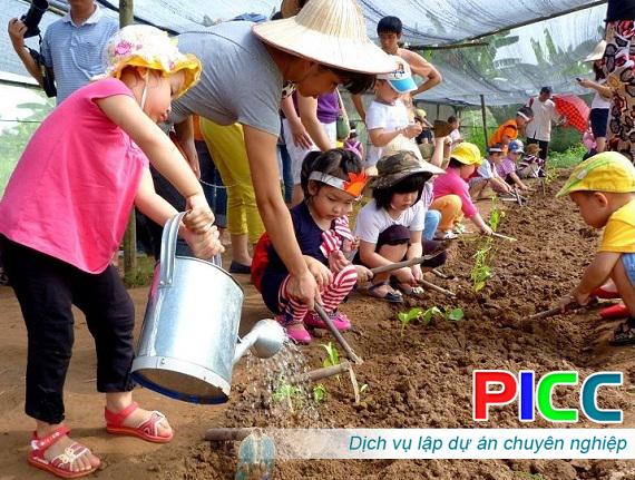 Dự án đầu tư xây dựng nông trại giáo dục