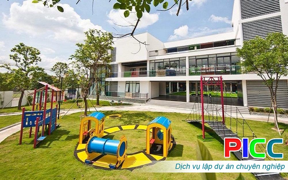 Dự án đầu tư xây dựng Trường mầm non Quốc tế