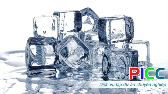 Dự án đầu tư xưởng sản xuất nước đá viên và nước đóng chai tinh khiết