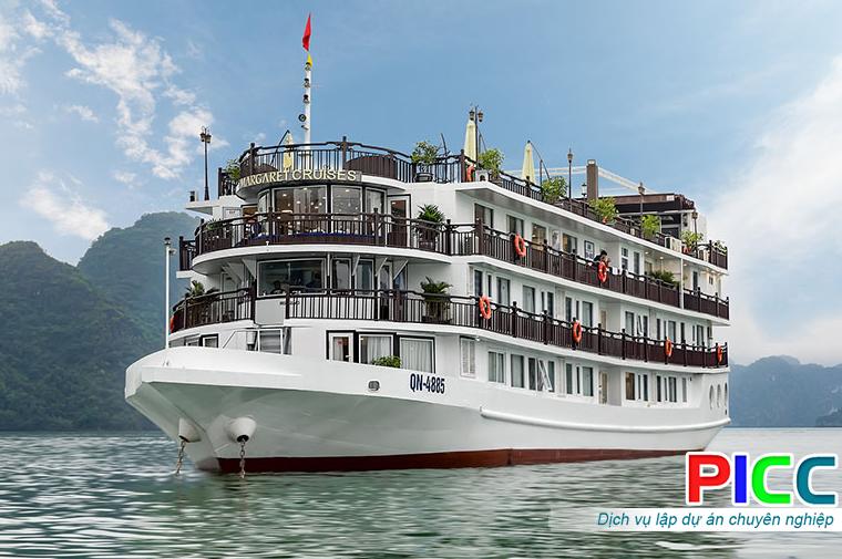 Dự án đóng mới du thuyền Cát Bà - Hạ Long