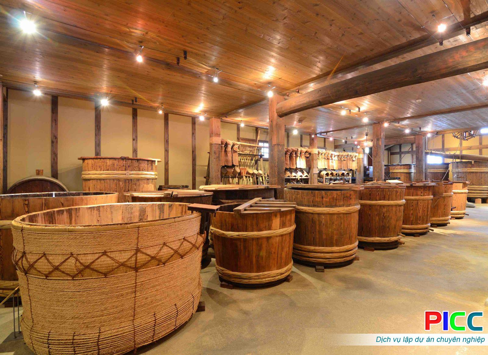 Dự án Nâng cấp nhà máy sản xuất rượu
