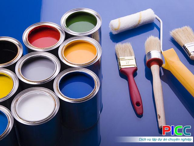 Dự án Nhà máy sản xuất sơn sàn