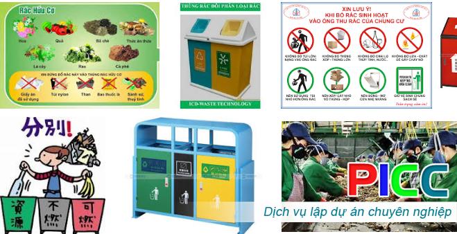Dự án Thu gom rác thải kết hợp kinh doanh vật liệu xây dựng