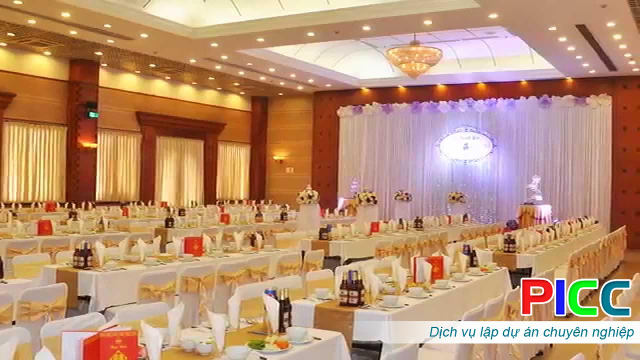 Dự án Trung tâm Hội nghị tiệc cưới tỉnh Sơn La