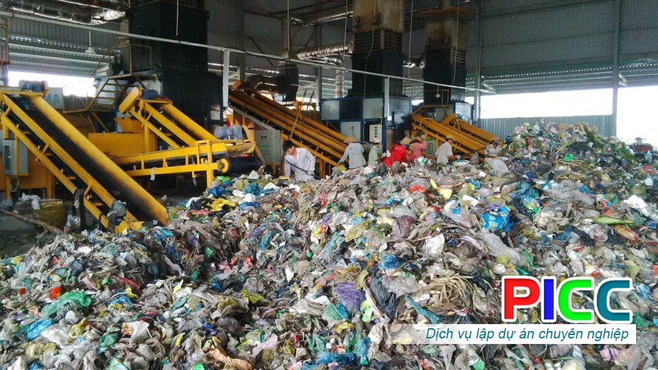 Dự án Xây Dựng nhà máy xử lý và tái chế chất thải