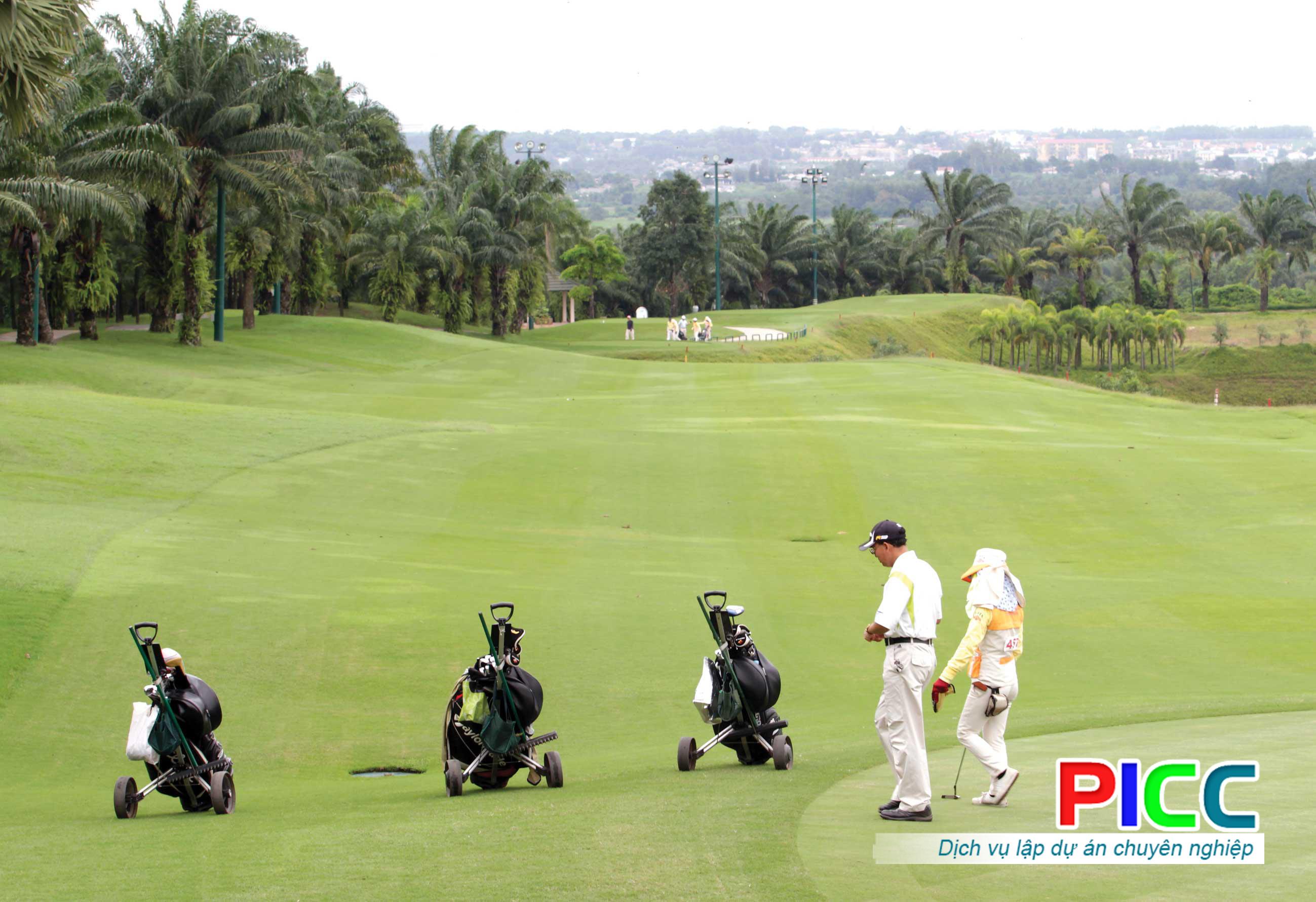 Dự án xây dựng sân golf Hàn Việt