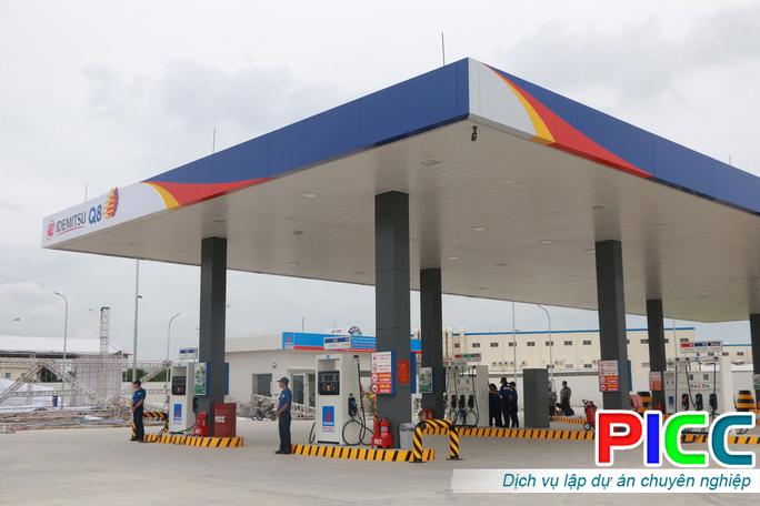 Dự án xây dựng Trạm xăng dầu Hà Nội