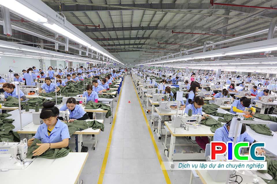 Dự án Xây dựng Xưởng sản xuất và Phát triển may mặc Khuất Gia Garment