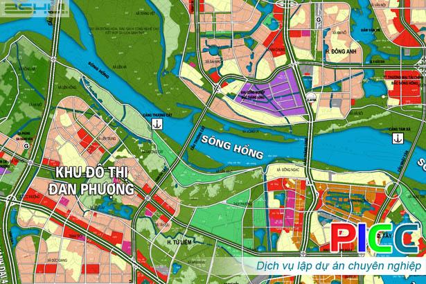 Duyệt Chỉ giới đường đỏ Vành đai 3,5 đoạn qua địa bàn huyện Mê Linh và Đông Anh