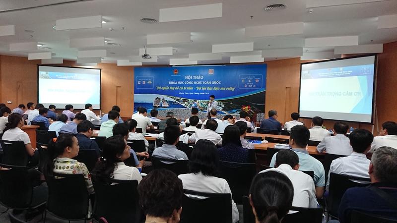 Hội thảo khoa học cát nghiền thay thế cát tự nhiên tại Quảng Ninh