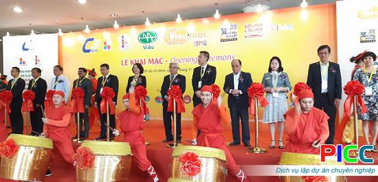Hơn 400 gian hàng tham dự Triển lãm VINAMAC EXPO 2018