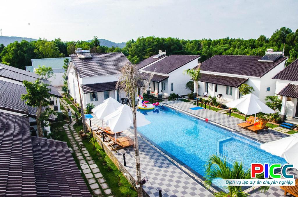 Khu du lịch nghỉ dưỡng Resort PMT Mỹ An tỉnh Bình Định