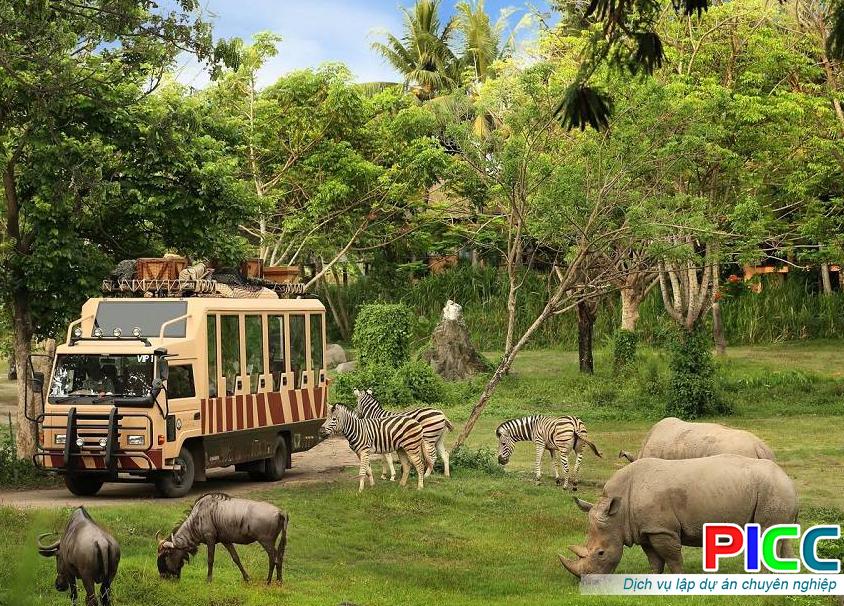 Khu vườn thú Safari The Quest of Humanity tỉnh Vũng Tàu