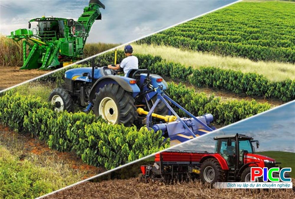 Mở rộng dây chuyền cơ giới hóa nông ngư nghiệp