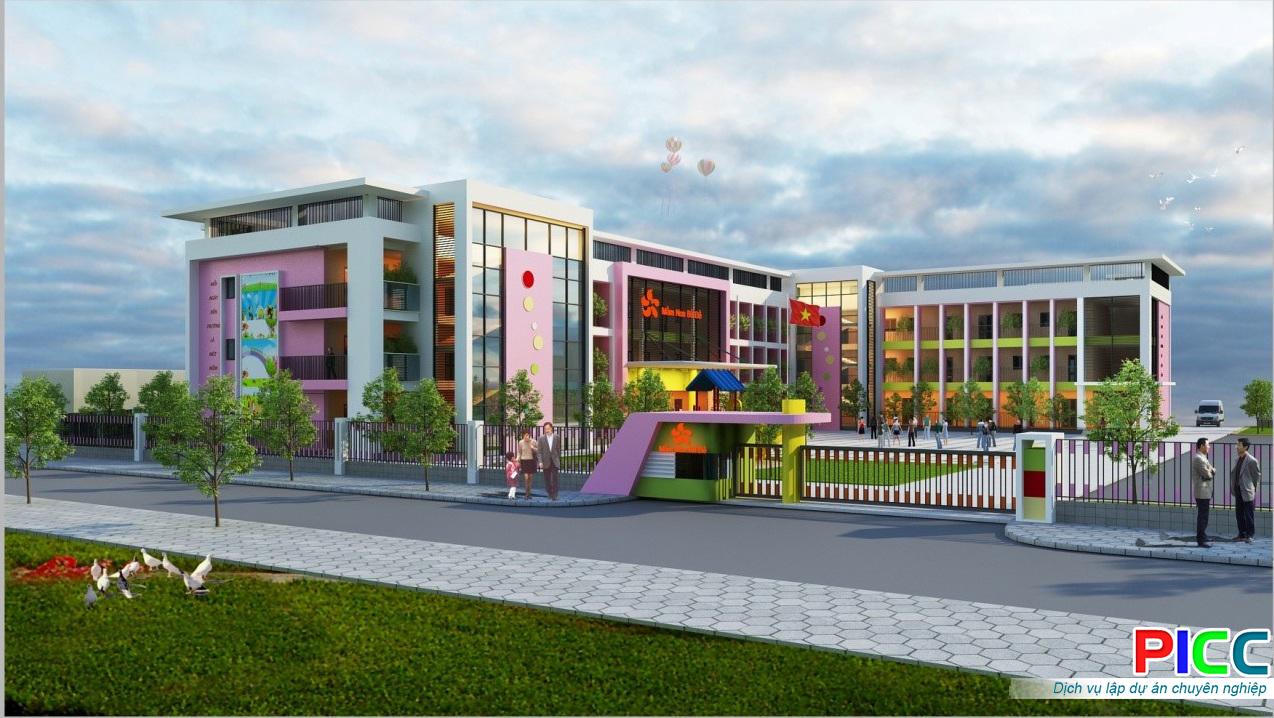 Nâng cấp và xây dựng khu vui chơi trường Mầm non Sóc Nâu tỉnh Đăk Lăk