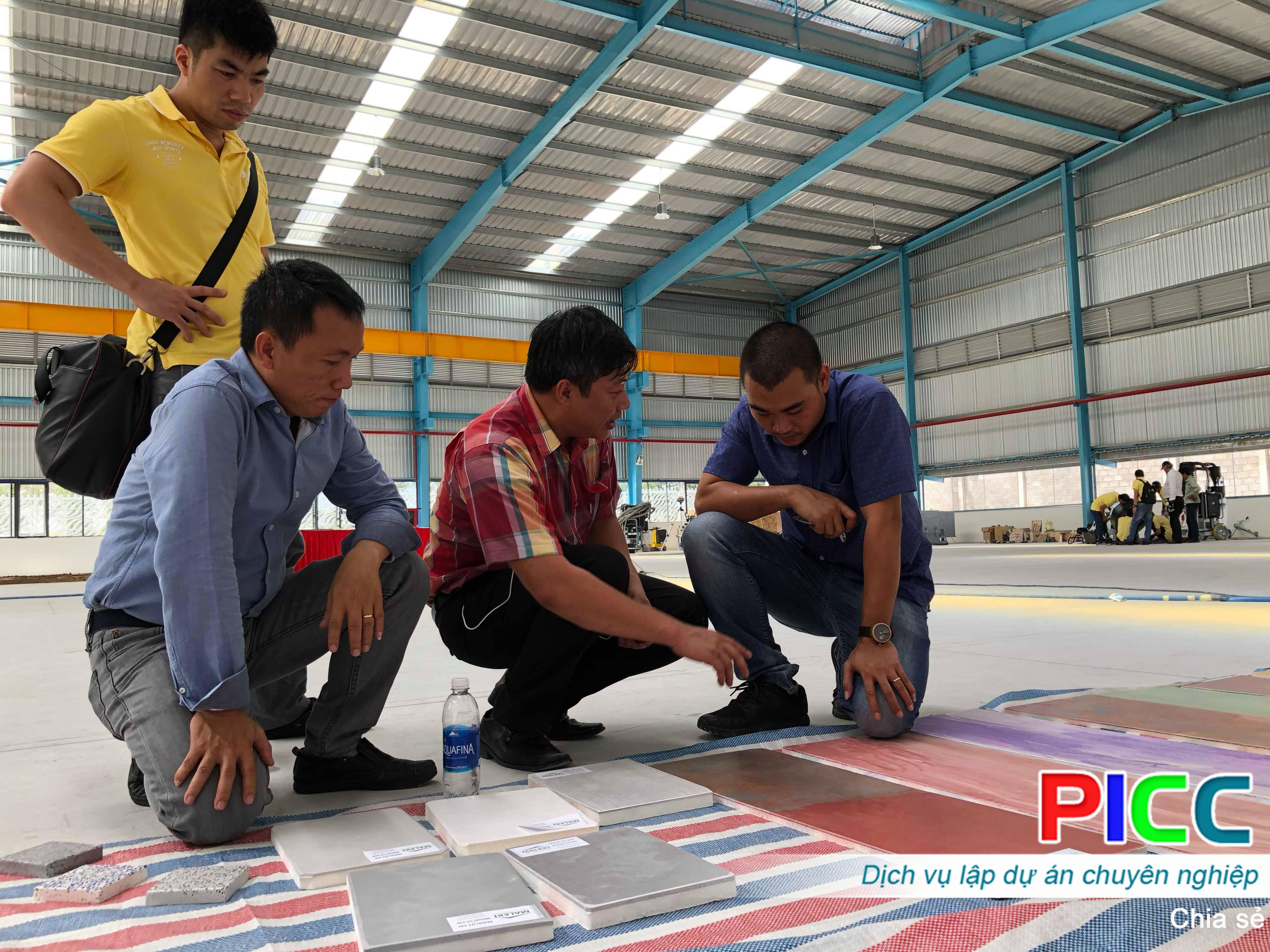 Ngắm công nghệ, sản phẩm sàn bê tông hiện đại tại sàn diễn thực nghiệm