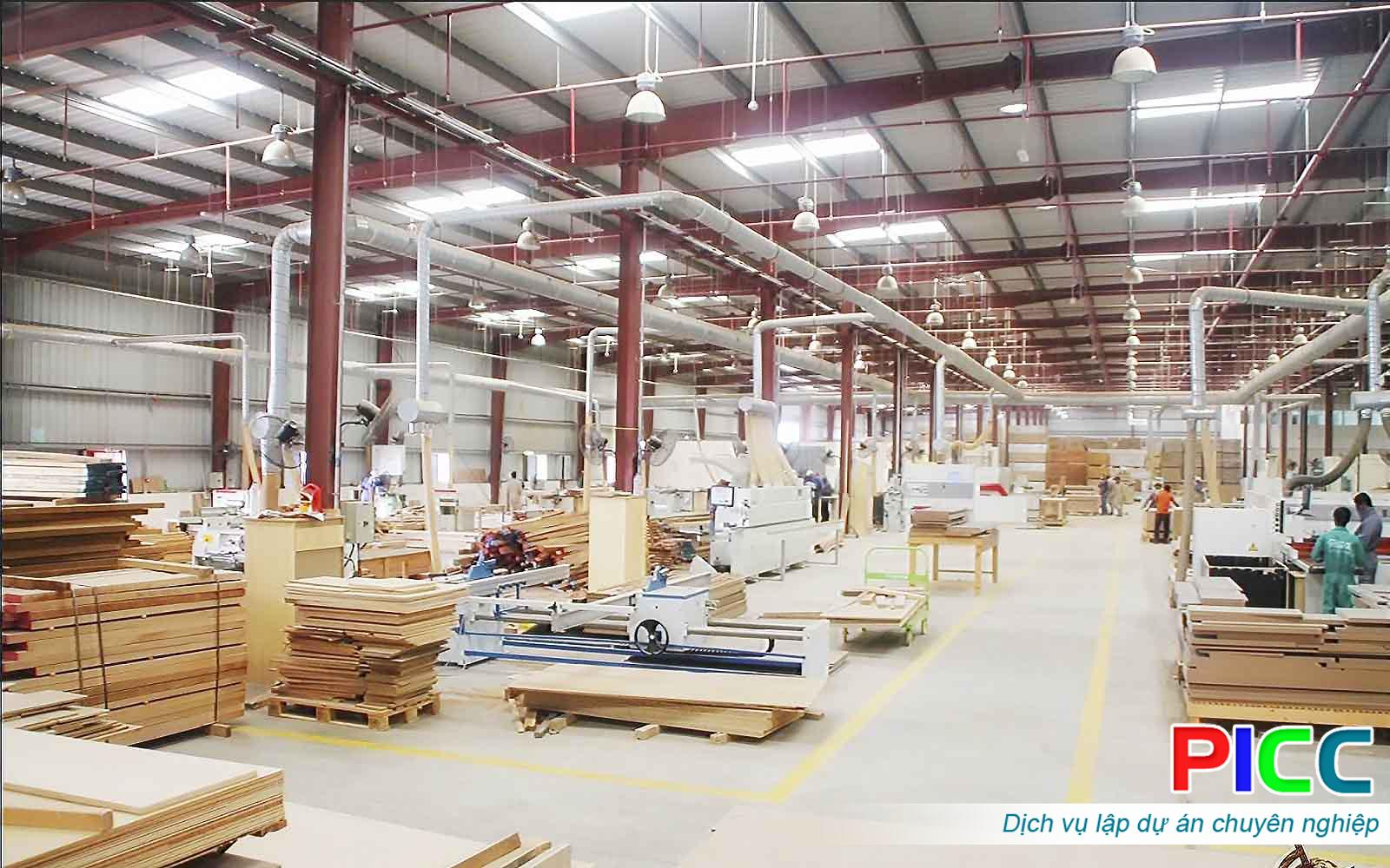 Nhà máy chế biến gỗ tỉnh Đăk Lăk
