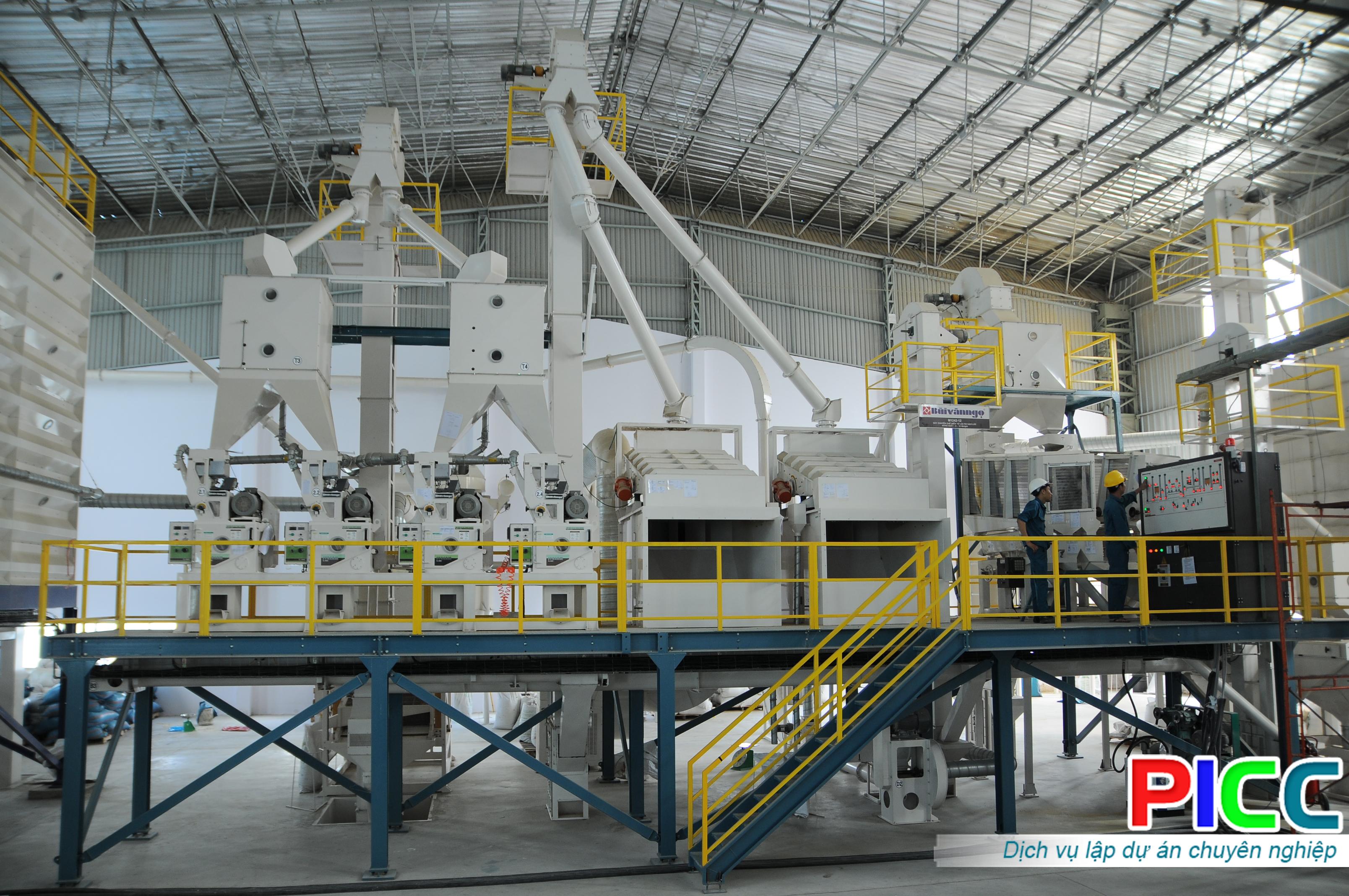 Nhà máy gạo chất lượng cao Hoa Sen - Cờ Đỏ