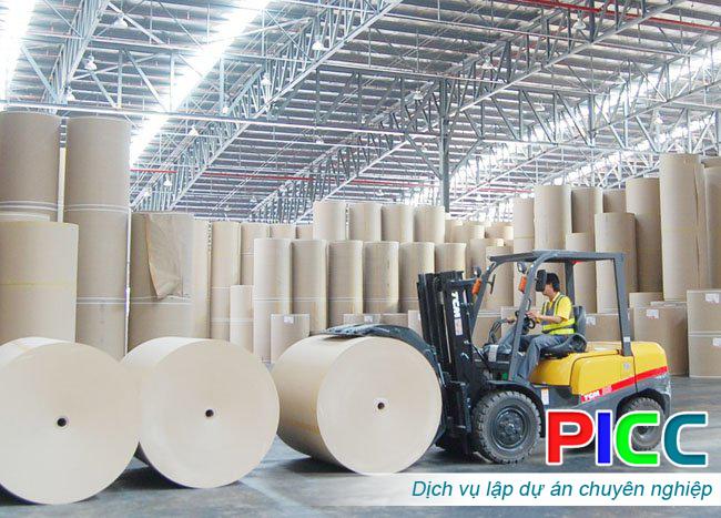 Nhà máy sản xuất bột giấy Gia Lai