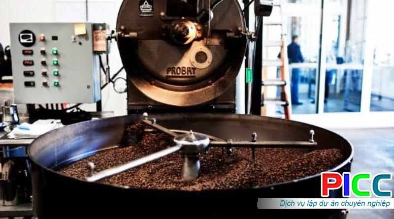 Nhà máy sản xuất cà phê tỉnh Lâm Đồng