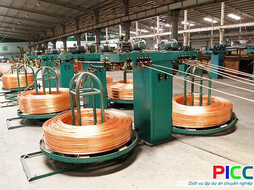 Nhà máy sản xuất dây và cáp diện GL tỉnh Vũng Tàu