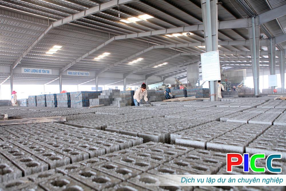 Nhà máy sản xuất gạch cốt liệu xi măng tỉnh Thanh Hóa