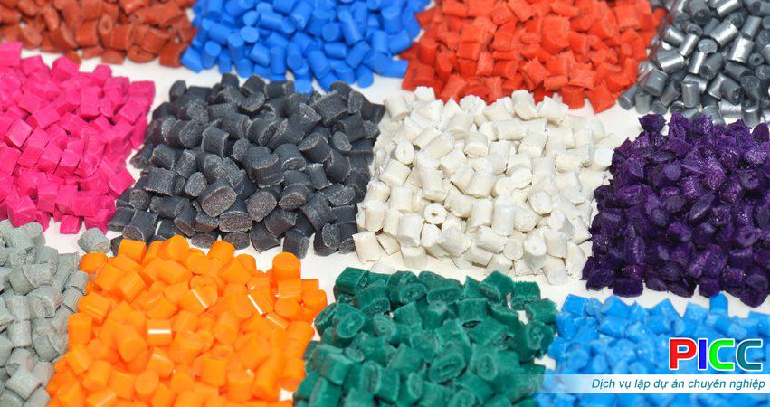 Nhà máy sản xuất hạt nhựa PE
