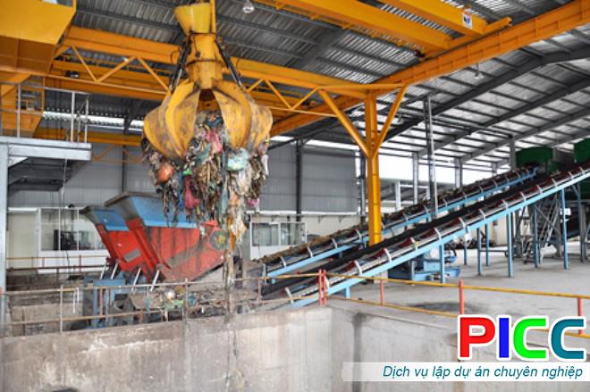 Nhà máy tái chế và xử lý rác thải Phú Quốc