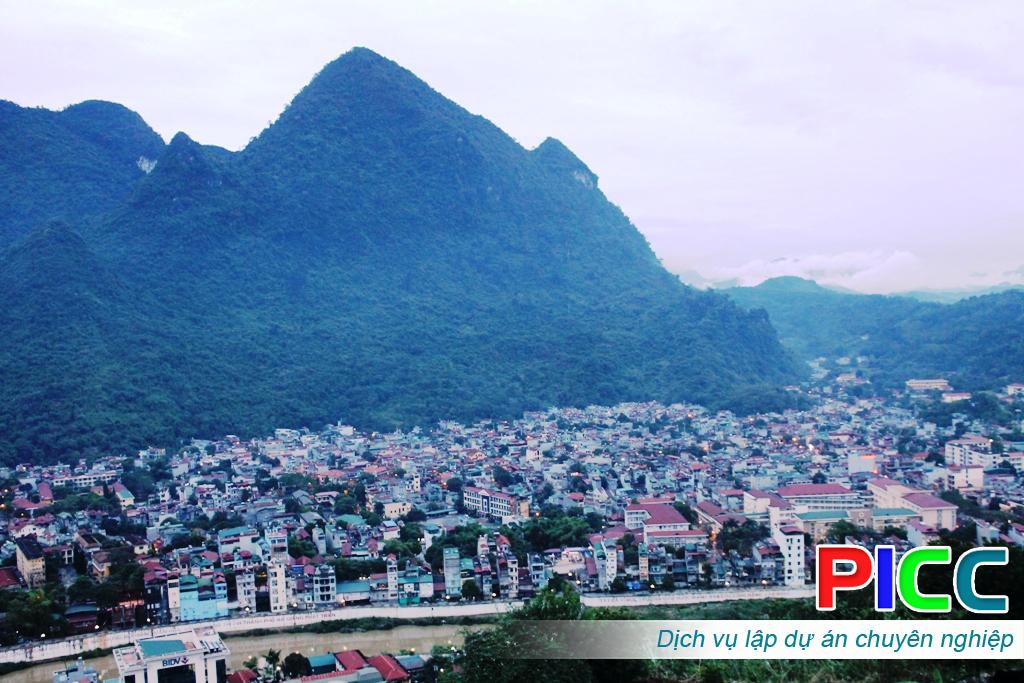 Nhiệm vụ quy hoạch chung đô thị Hà Giang, tỉnh Hà Giang
