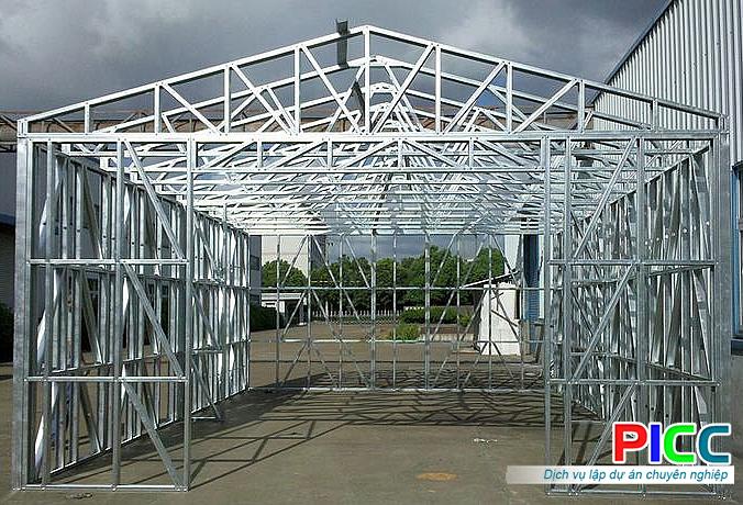 Những ưu thế của khung thép nhẹ trong xây dựng