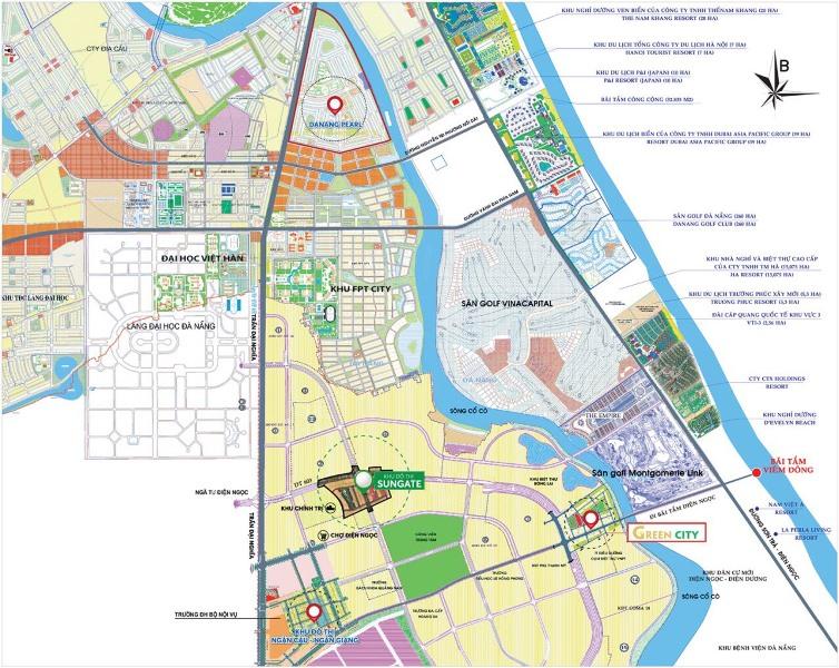 Quảng Nam: Điều chỉnh quy hoạch các phân khu tại đô thị mới Điện Nam – Điện Ngọc