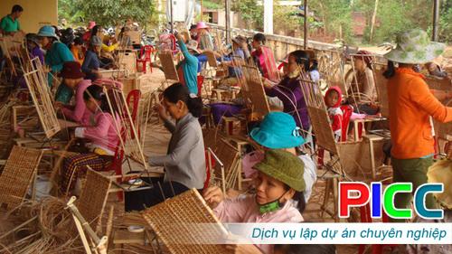 Quy hoạch phát triển ngành nghề Nông thôn tỉnh Bình Phước đến năm 2020