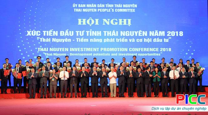 Thái Nguyên: Tiếp tục chương trình xúc tiến đầu tư tại nước ngoài