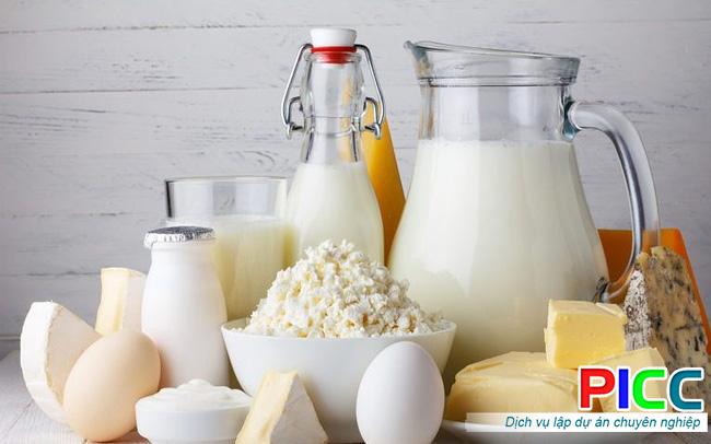 Thuyết minh dự án Nhà máy chế biến sữa