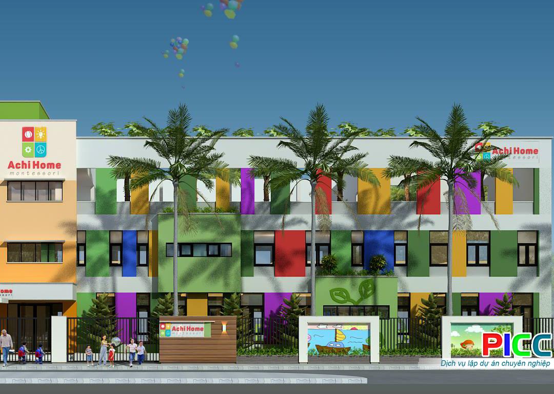 Thuyết minh dự án Xây dựng Trường mầm non quốc tế