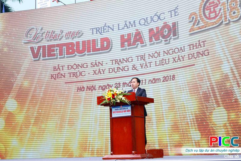 Triển lãm VIETBUILD Hà Nội 2018 lần thứ ba hút hàng chục nghìn khách tham dự ngày khai mạc