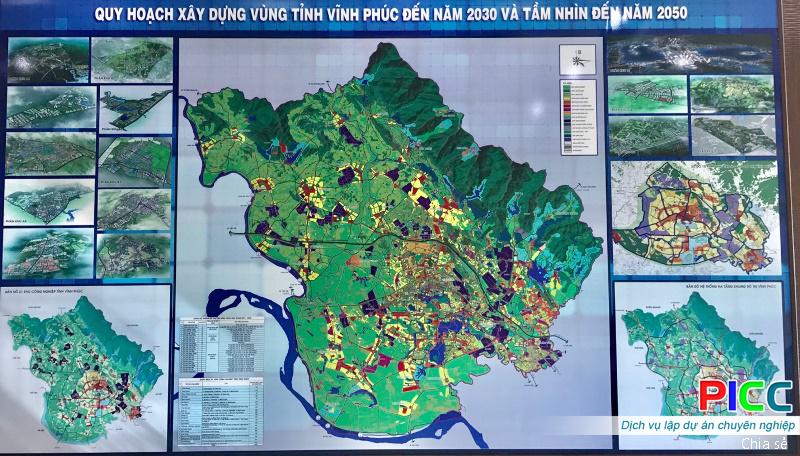 Trục không gian Bắc - Nam mang tầm nhìn chiến lược trong xây dựng và phát triển đô thị của Vĩnh Phúc