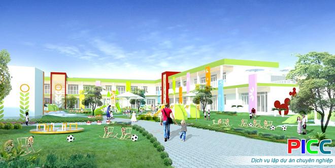 Trường Mầm non - Tiểu học Ngoại ngữ Chất lượng cao tỉnh Lâm Đồng